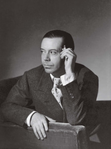 ** FOR USE WITH AP WEEKLY FEATURES ** Cole Porter, in this  1934 photo, may be best known for witty lyrics as frothy as champagne, in his most thoughtful songs he seems to stand in awe, both confounded and captivated, by an emotion that defies understanding: love.  (AP Photo/Smithsonian Magazine)