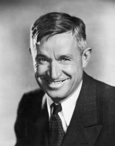 circa 1933: Studio portrait of American humorist and actor Will Rogers (1879 - 1935) smiling in a jacket and tie. (Photo by Hulton Archive/Getty Images)